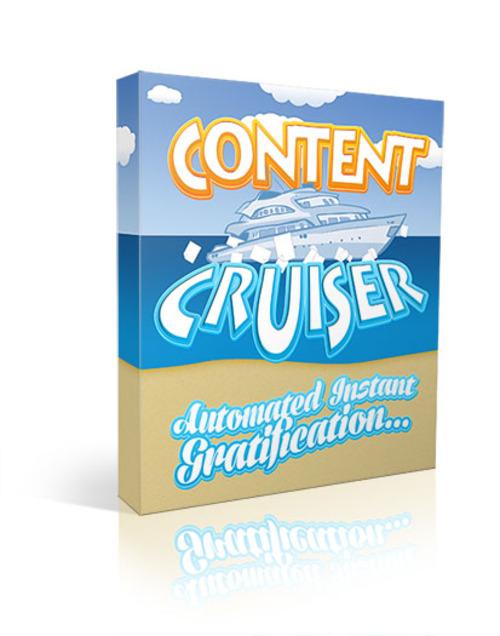 Product picture Content Cruiser Plugin (mrr)