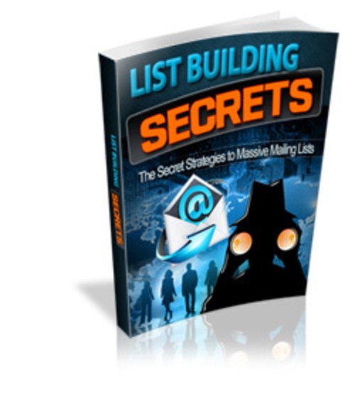 Product picture List Building Secrets MRR